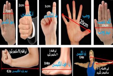 روش های تقریبی اندازه گیری طول